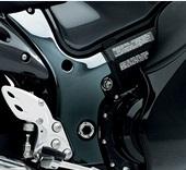 GSX1300R(隼)EBL-GX72B フレームカバー カーボン調 SUZUKI(スズキ)