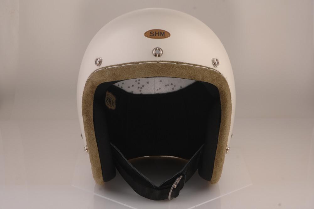送料無料 HAND STITCH Lot-103 ジェットヘルメット S SHM 気質アップ 新入荷 流行 アイビーグリーントリム 55cm~56cm