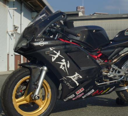 NSF100 1098type フルカウル 耐久レース1灯 白ゲル スモークレンズ 才谷屋(サイタニヤファクトリー)