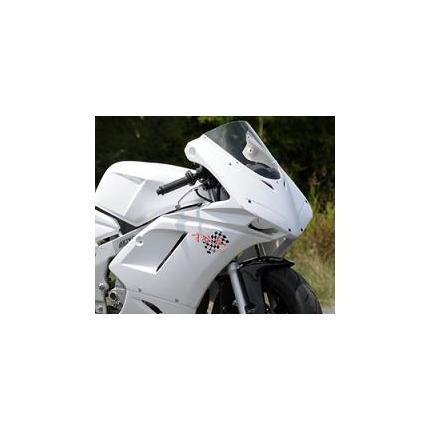 1098typeハーフカウル レース 白ゲル NSR50/80 SAITANIYA(才谷屋ファクトリー)