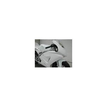 ハーフカウル レース 白ゲル NSF100 SAITANIYA(才谷屋ファクトリー)