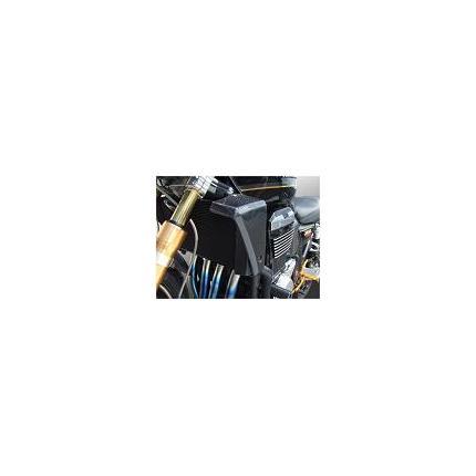 ラジエターシュラウド 黒ゲル ZRX1200[DAEG] SAITANIYA(才谷屋ファクトリー)