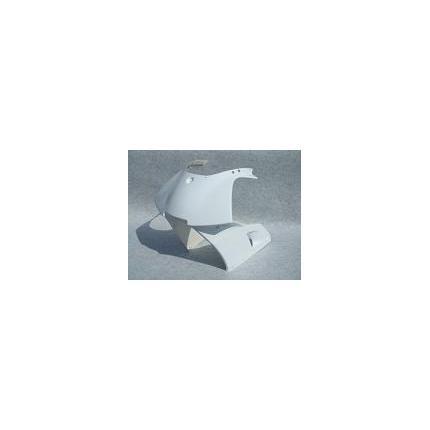 ハーフカウル レース 白ゲル TZR50/R (3TU/4EU) SAITANIYA(才谷屋ファクトリー)