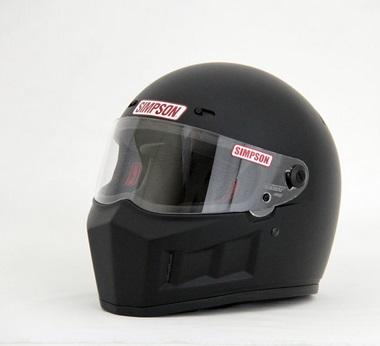 SUPER BANDIT(スーパーバンディット)13ヘルメット マットブラック 57cm(7-1/8) SIMPSON(シンプソン)