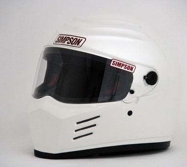OUTLAW(アウトロー)ヘルメット ホワイト 59cm(7-3/8) SIMPSON(シンプソン)