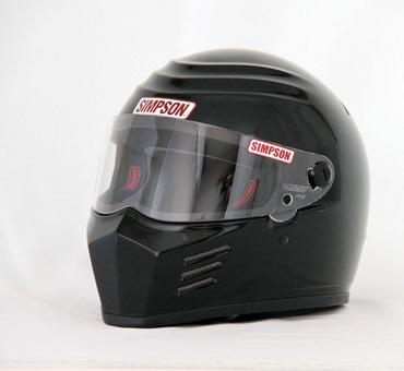 OUTLAW(アウトロー)ヘルメット ブラック 62cm(7-3/4) SIMPSON(シンプソン)