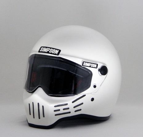 M30ヘルメット ホワイト 62cm(7-3/4) SIMPSON(シンプソン)