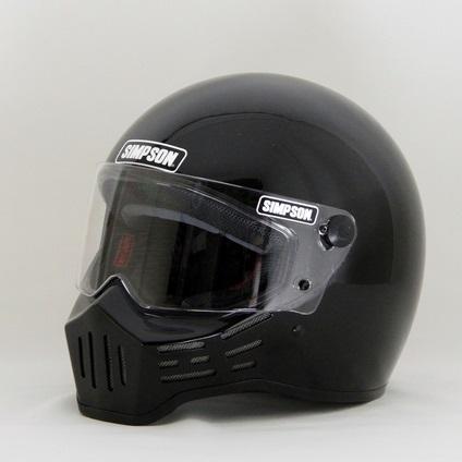 M30ヘルメット ブラック 62cm(7-3/4) SIMPSON(シンプソン)