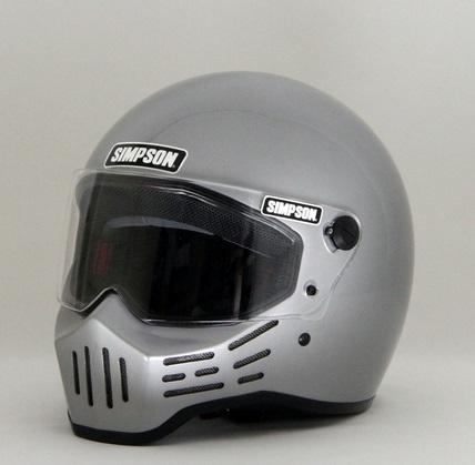 M30ヘルメット シルバー 57cm(7-1/8) SIMPSON(シンプソン)
