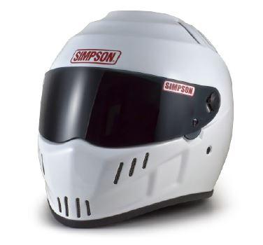 SPEEDWAY(スピードウェイ) RX12 ヘルメット ホワイト 60cm SIMPSON(シンプソン)