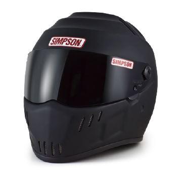SPEEDWAY(スピードウェイ) RX12 ヘルメット マットブラック 61cm SIMPSON(シンプソン)