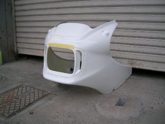 CB1100RD FRP製アッパーカウル STING R&D(スティングアールアンドディー)