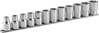 HSL412 TONE ディープソケットセット(6角・ホルダー付) 12pcS(6角タイプ・ホルダ付) TONE(トネ)