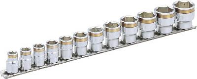 HSC312 TONE ナットキャッチソケットセット(6角・ホルダー付) 12pcS(6角タイプ・差込角9.5mm) TONE(トネ)