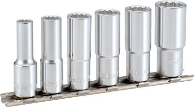 HDL306 TONE ディープソケットセット(12角・ホルダー付)(12角タイプ・ホルダ付) TONE(トネ)