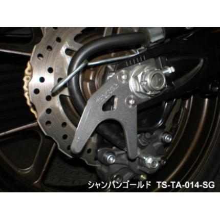 チェーンアジャスターリアスタンドフック シャンパンゴールド TRICK STAR(トリックスター) GSX-R1000(07-08)