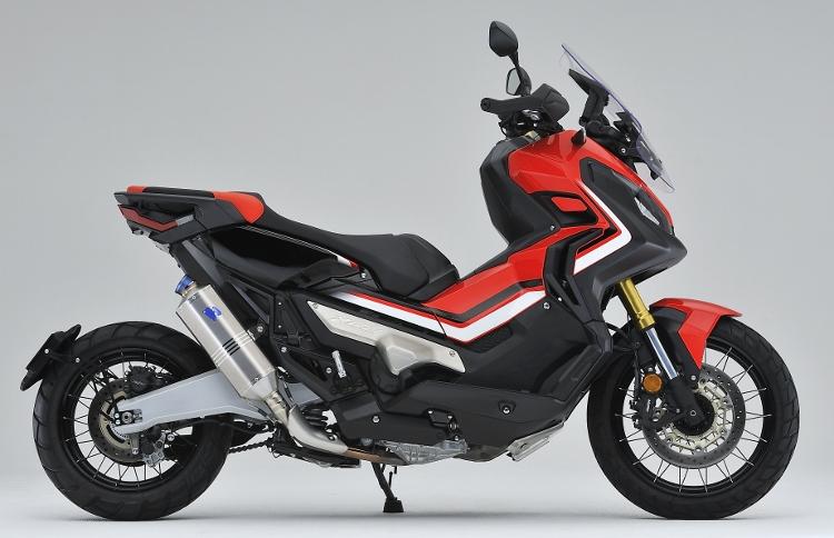 X-ADV(2BL-RC95) スリップオンマフラー レーシングエンド TSR(テクニカルスポーツ)