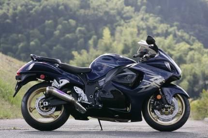 TRエキゾーストシステム 月光メガホン 月木レーシング(ツキギレーシング) GSX1300R(隼)08~09