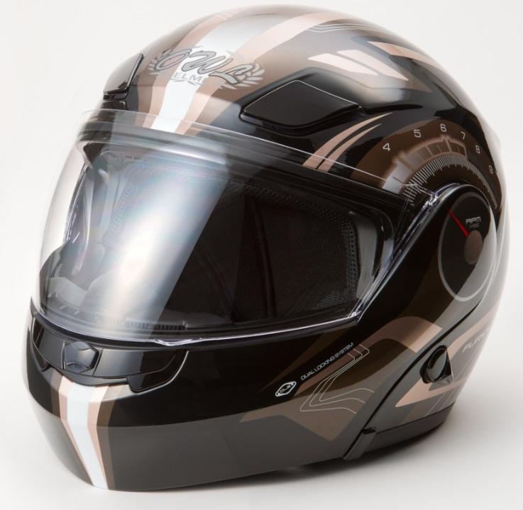 OWL(アウル)TT-3000Aハイブリットヘルメット GG7 ブラック/ゴールド Sサイズ TOHTAN(東単)