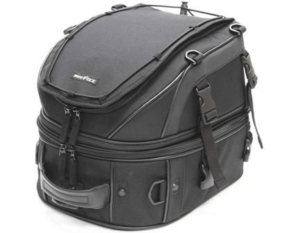 Wデッキシートバッグ ブラック 18~25L MOTOFIZZ(モトフィズ)