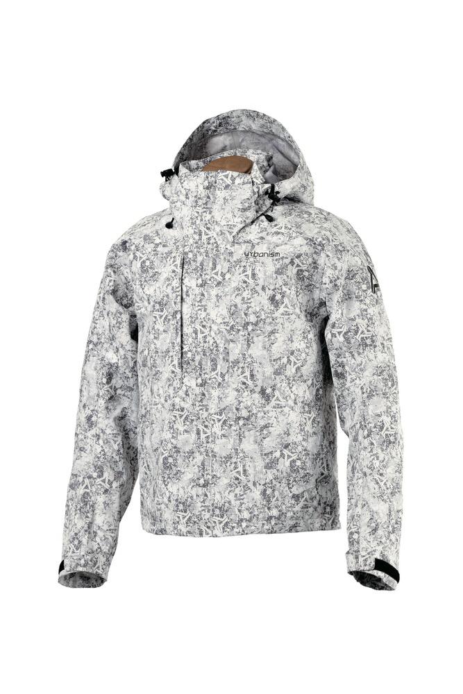 UNJ-064 アーバン3レイヤ?ジャケット アイス ホワイト 3Lサイズ urbanism(アーバニズム)