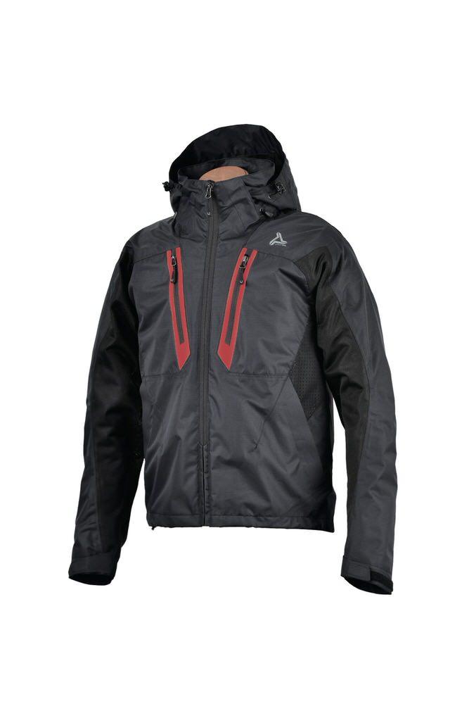 UNJ-065 ハイブリットメッシュベントジャケット ブラック Mサイズ urbanism(アーバニズム)