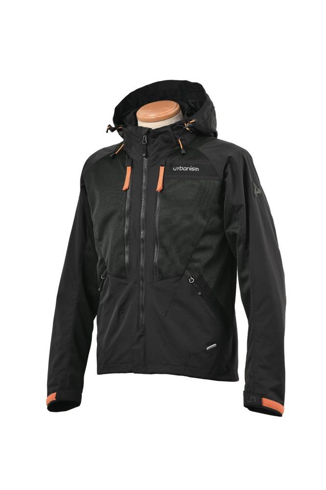 UNJ-080 メッシュベントジャケット ブラック 3Lサイズ urbanism(アーバニズム)