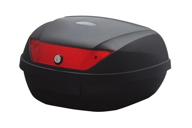 バイク用リアボックスL ブラック UNICAR(ユニカー工業)