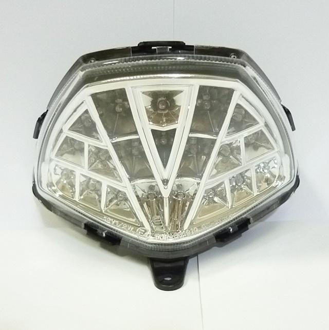 送料無料 販売期間 限定のお得なタイムセール CBR250R 11年~ LEDテールランプ ユニカー工業 クリア UNICAR 出群