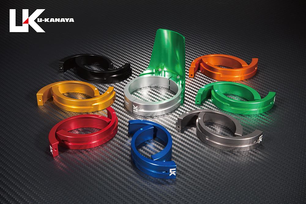 一流の品質 シャドウスラッシャー750(SHADOW) アルミビレットフロントフォークガード (グリーン) U-KANAYA, 東京発インテリア雑貨のクライン:0982cde2 --- construart30.dominiotemporario.com