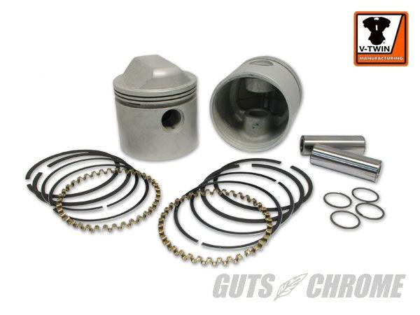 11-0226 スタンダードサイズ ピストン&リングセット 1340cc用 V-TWIN