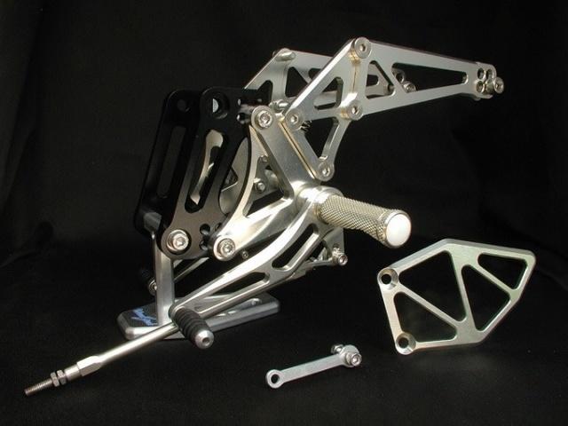 Z1000(03~06年) バックステップキット woodstock(ウッドストック)