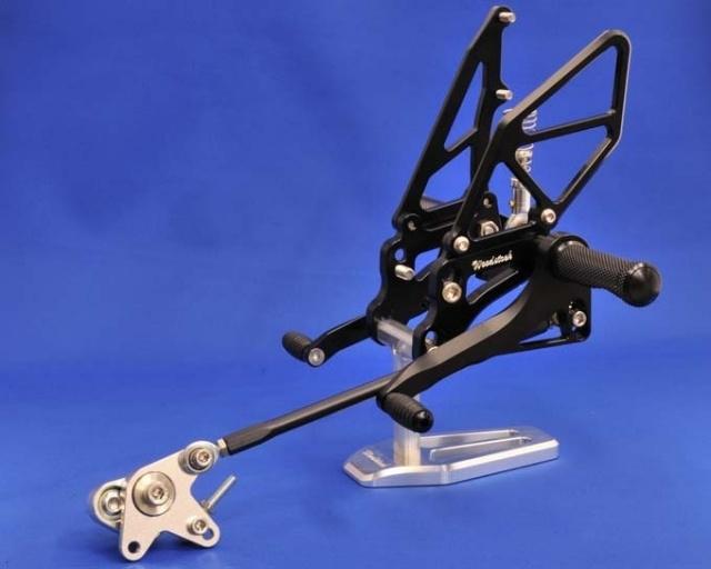 GSX-R600(06~08年) バックステップキット woodstock(ウッドストック)