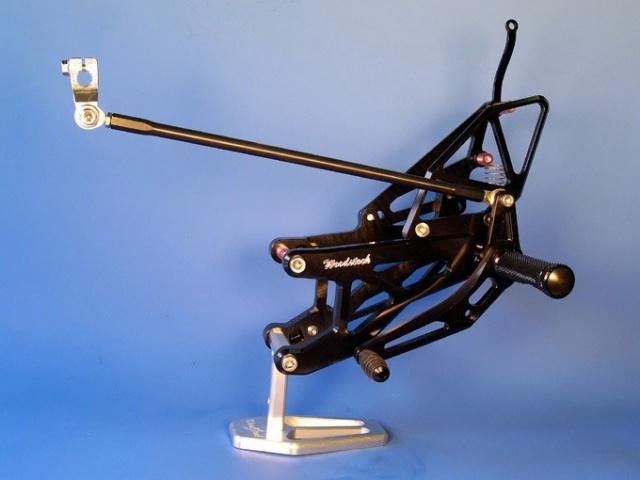 YZF-R1(07~08年) バックステップキット woodstock(ウッドストック)