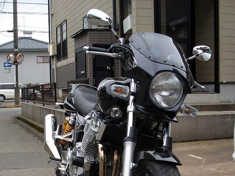 XJR1300 汎用ビキニカウル DS-01 タイプR スモークスクリーン(ダークグレイメタリックB)コード:0853 WORLD WALK(ワールドウォーク)