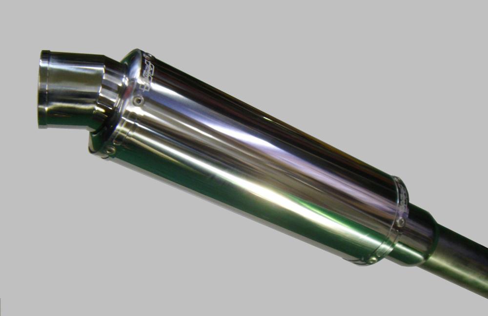アドレスV125S(ADDRESS)CF4MA スネーク・コーン・パイプ スタンダード WJ-R ステンレスポリッシュ ウインドジャマーズ