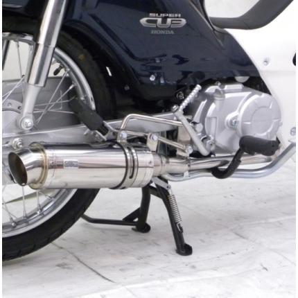 ロイヤルマフラー ステンレス スポーツタイプ ウイルズウィン(WirusWin) スーパーカブ110(SUPERCUB)(JA10)用