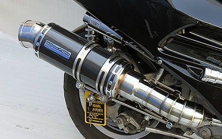 フォルツァ(FORZA)MF06 プレミアムマフラーブラックカーボン仕様 ウイルズウィン(WirusWin)