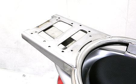 PCX150(KF18) リアボックス用ベースブラケット付 タンデムバーエレガントタイプ ウイルズウィン(WirusWin)