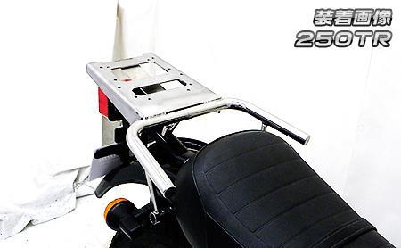 250TR リアボックス用ベースブラケット付 タンデムバー ウイルズウィン(WirusWin)