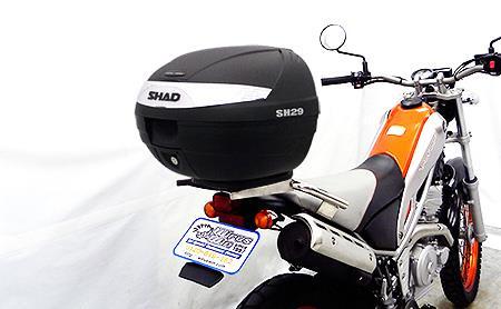 トリッカー(JBK-DG16J/BA-DG10J) SHAD製リアボックス付 タンデムバー ウイルズウィン(WirusWin)
