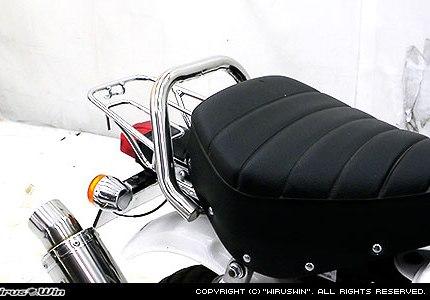 モンキー(MONKEY)キャブ車/FI車 グラブバー ステンレス製 ウイルズウィン(WirusWin)