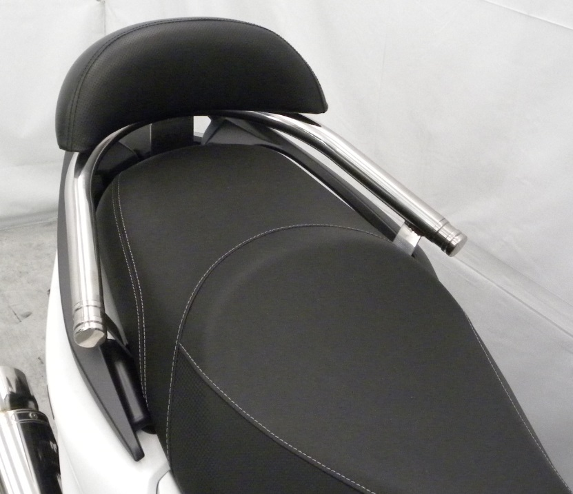 KYMCO RACING S 125(16年) バックレスト付き 32φタンデムバー エレガントタイプ バックレストサイズ ラージ ウイルズウィン(WirusWin)