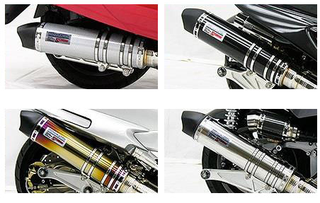 マジェスティ125(MAJESTY) ビートイットマフラー シルバーカーボン仕様 ウイルズウィン(WirusWin)