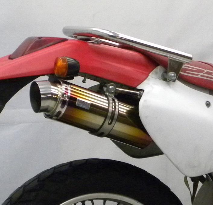 XR250(MD30) スリップオンマフラー スポーツタイプ チタン ウイルズウィン(WirusWin)