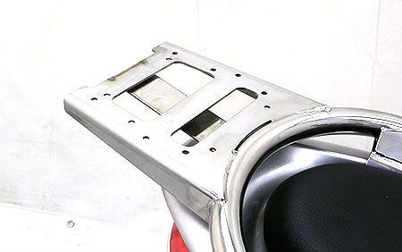 リアボックス用ベースブラケット付 タンデムバー マジェスティ125 ウイルズウィン(WirusWin)