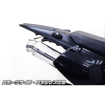 スリップオンマフラー スポーツタイプ ステンレス ウイルズウィン(WirusWin) 250SB 型式:BA-LX250L