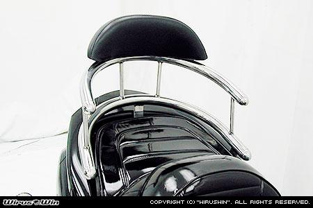 バックホールドタンデムバー ブライアントタイプ グランドマジェスティ250/400共用(~2010年式) ウイルズウィン