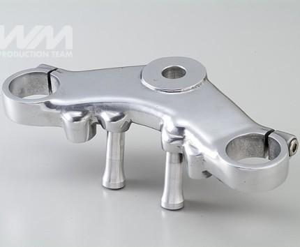 トップブリッジ セパレートハンドル用 アルミ鋳物バフ仕上げ WM(ダブルエム) W800