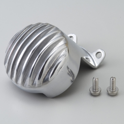 オイルフィルターカバー アルミ鍛造バフ仕上げ WM(ダブルエム) W400